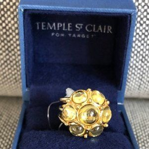 Temple St Clair for Target Yellow Cluster Ring